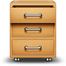Drawer - 1 icon by Asher #icon #design #free #download #freebie
