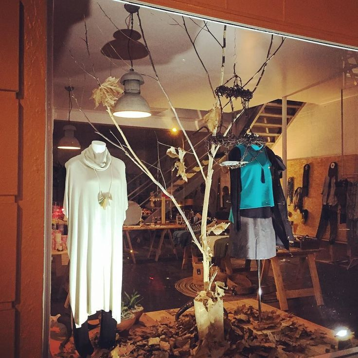 AUTUMN | as the weather is now starting to cool our Autumn window showcases the @ebandivelifestyle Winter collection. Visit in store or shop online | http://ift.tt/1bnYKAe Have a good night X