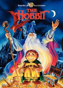 The Hobbit (1977 film) - The Hobbit is a 1977 animated musical television special created by Rankin/Bass, a studio known for their holiday specials, and animated by Topcraft, a precursor to Studio Ghibli, using lyrics adapted from the book. The film is an adaptation of the 1937 book of the same name by J. R. R. Tolkien and was first broadcast on NBC in the United States on Sunday, November 27, 1977.