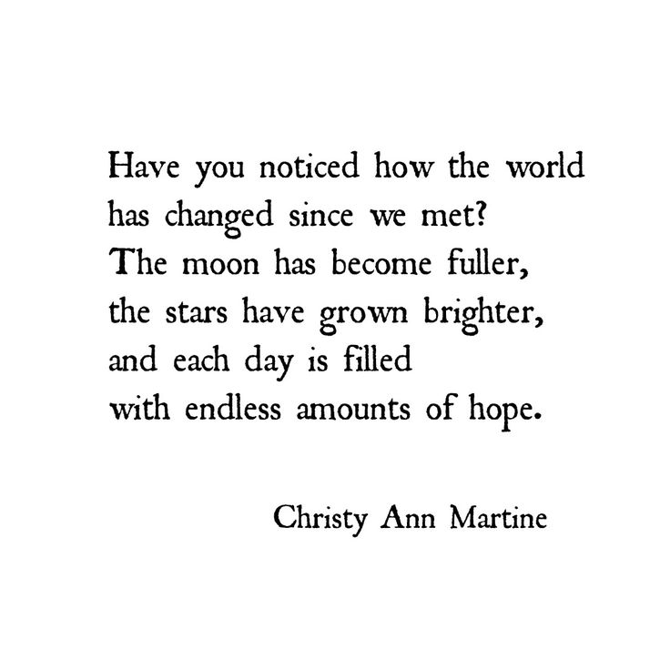 Romantic love poetry and quotes by Christy Ann Martine #romanticquotes