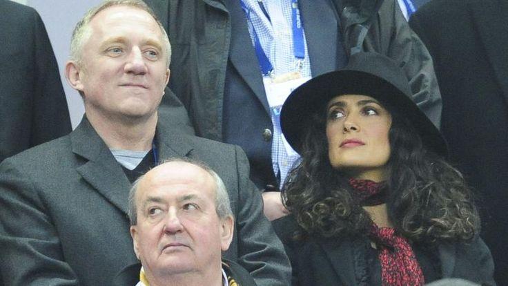 Salma Hayek «ne comprend» pas le Stade Rennais