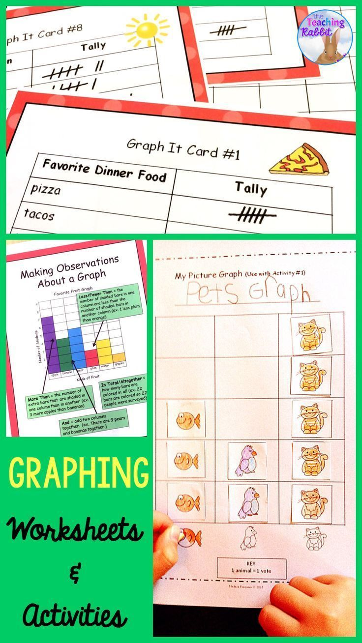 Teaching Data Management These Graphing Activities Are Great For First Second And Third G Graphing Activities Math Activities Elementary Graphing Worksheets [ 1308 x 736 Pixel ]
