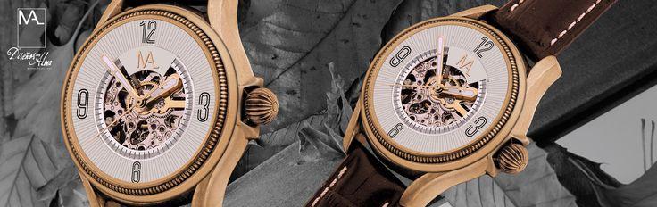 Reloj automático de mujer de la marca Miguel Ángel Leal de CRISTIAN LAY. www.cristianlay.com