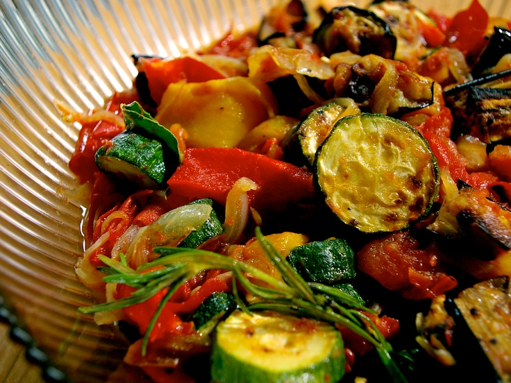 Lazy Ratatouille from CookingChannelTV.com - Laura Calder French Food at Home<3