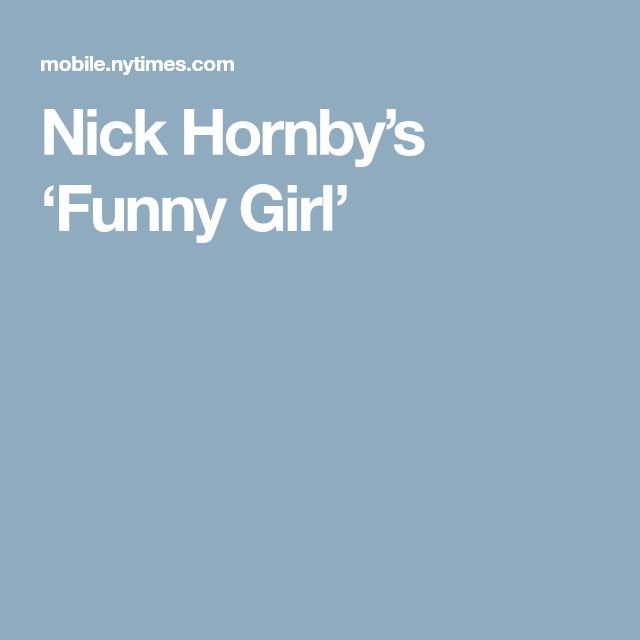 Nick Hornby's 'Funny Girl'