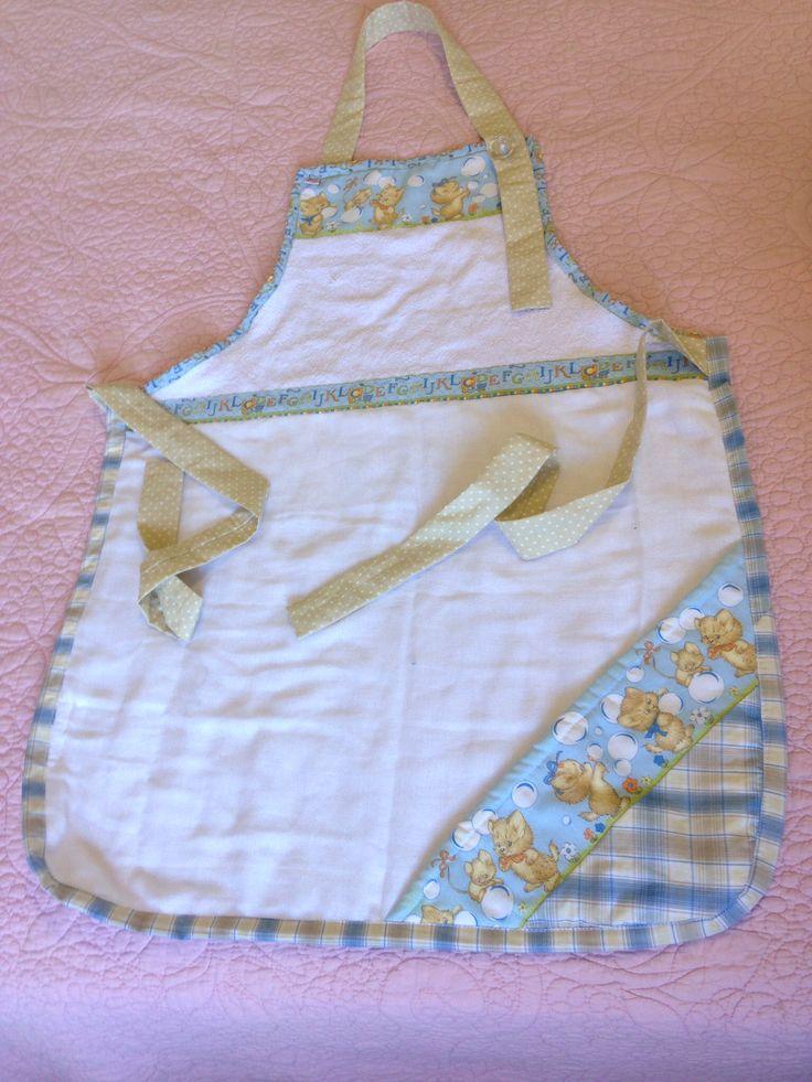 Avental toalha Lua de Pano