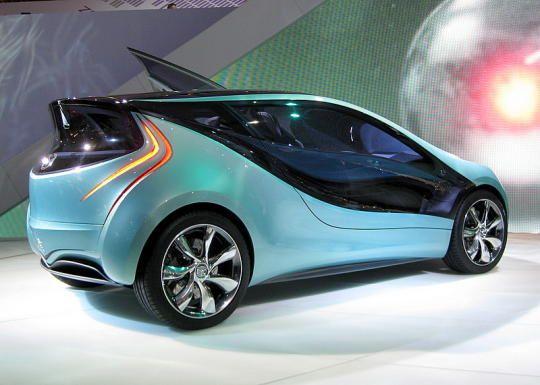Mazda Designs Concept City Car