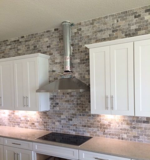 Walltile Wednesday Highlights A Super Cool Kitchen Backsplash By Meritage Homes Out Of Orlando