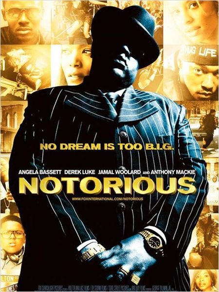 Notorious / Notorious B.I.G. - 2009 - directed by : George Tillman Jr. - cast : Jamal Woolard, Derek Luke, Dennis White, Marc John Jefferies, Anthony Mackie, Christopher Jordan Wallace, Ricky Smith, Amanda Christopher, Angela Bassett, Naturi Naughton, Antonique Smith, Valence Thomas, Edwin Freeman, Charles Malik Whitfield