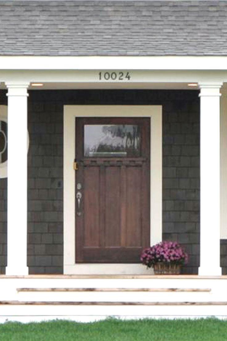 23 best images about front doors on pinterest for Wood front doors and garage doors