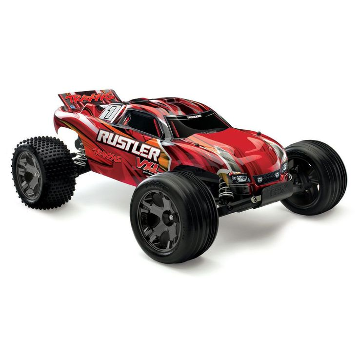 1/10 Rustler VXL RTR TQi, without Module, Red