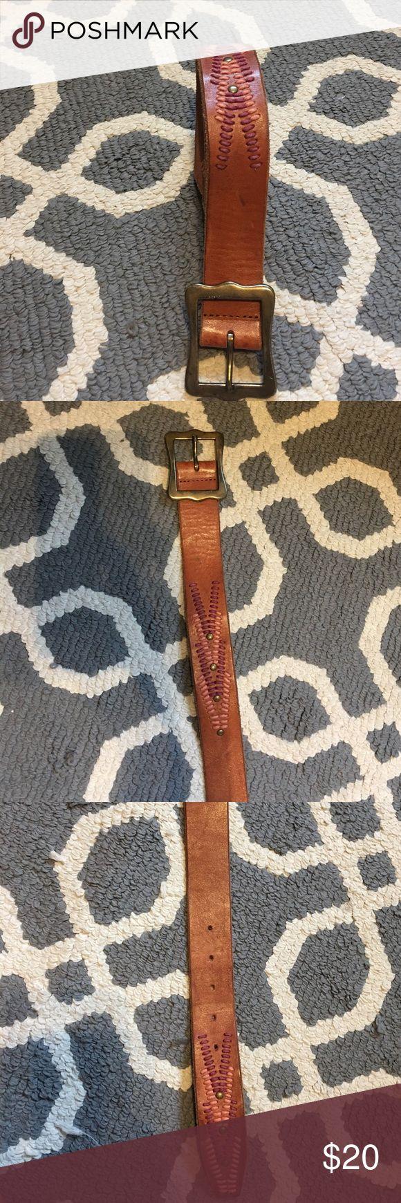 Lucky brand belt Size medium = jean size 27-30 Lucky Brand Accessories Belts