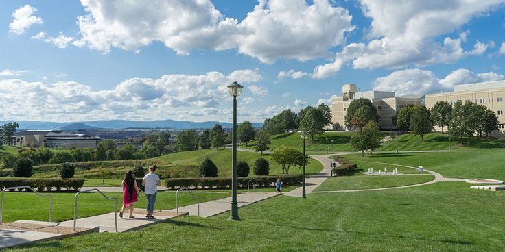 James Madison University.  #11 best college campus in America by Business Insider