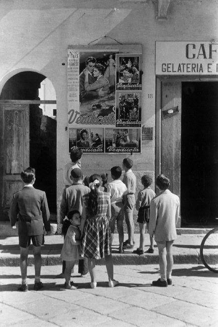 Rene Burri ITALY. Sicily. Favignana Island. 1956.