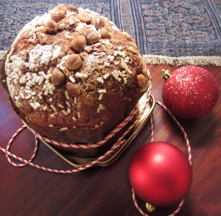 Panettone is a type of sweet bread loaf originally from Milan, Italy.