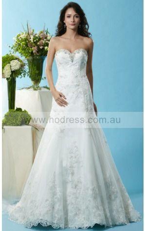 Backless Court Train A-line Empire Sweetheart Wedding Dresses gxcf1001--Hodress