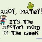 Mystery Word of the Week Freebie to Boost Vocabulary Word Work. This looks fun and it is free!