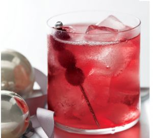To make a Nantucket Red, fill a glass with ice, then pour in 1 1/2 oz good-quality vodka, about 5 oz cranberry juice (more or less depending on how strong you like it), a splash of Chambord, and soda water (or champagne, if you have it handy) to fill. Give a good stir, and garnish with fresh cranberries or the sugared vodka cranberries described above.