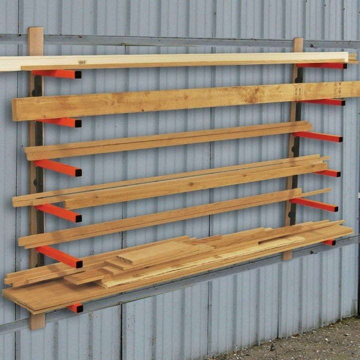 Portamate Lumber Rack System 6 Tier In 2019 Dream