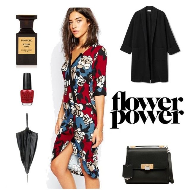 flower power by julimatveeva on Polyvore featuring мода, Sisley, Balenciaga, Jean-Paul Gaultier and OPI
