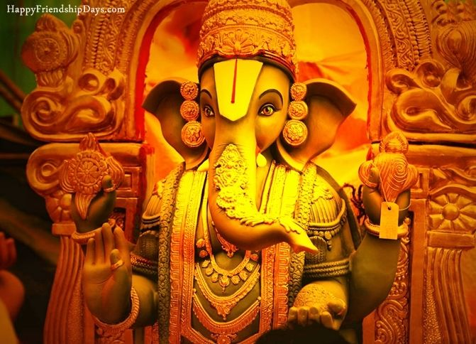 Beautiful Lord Ganesh Ji Images for Greetings