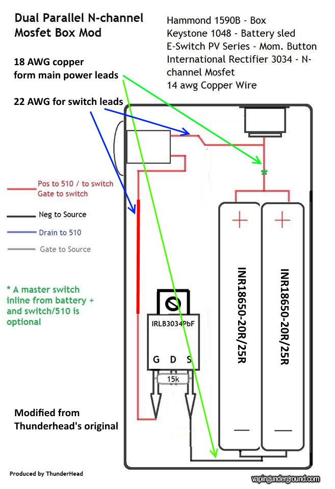 Unregulated Mod Box Wiring Diagram - All Diagram Schematics