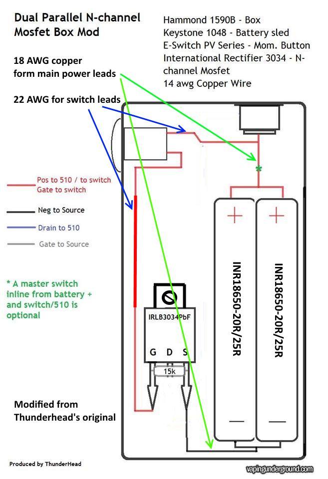 vape mod box wiring diagram  vape  get free image about
