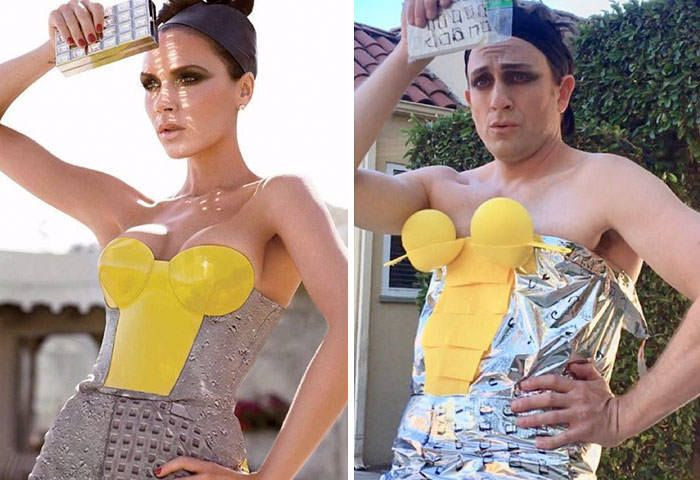 Crazy Actor Tom Lenk Hilariously Recreated Celebrity Outfits (21 Photos) – FunRare