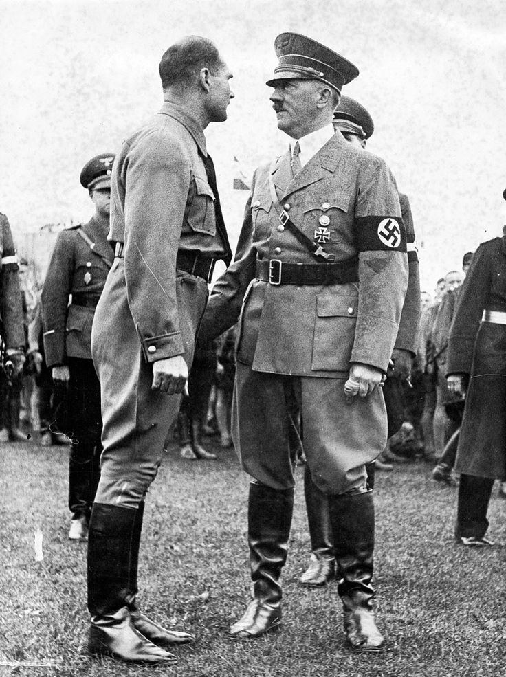 For some of the best prices see Eddyplace.com Hitler and Rudolf Hess, 1937. By that time, Hess was losing influence in the brutal internal war around Hitler.