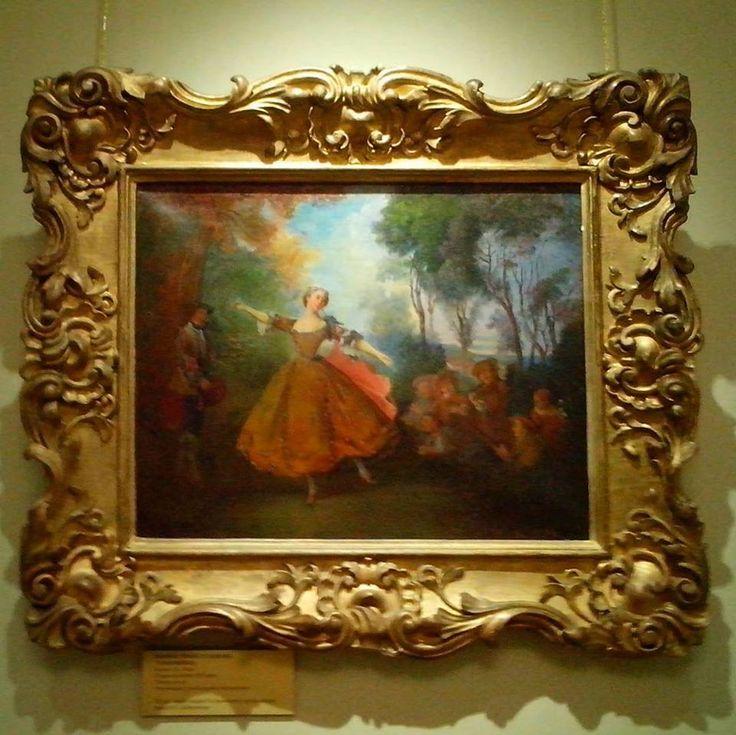 Continue with ballet in museums. A-la Lancret, a-la Camargo) #ballerina #ballet #dance #dancer #music #art #painting #museum #camargo #vintage #oldfashioned #балет #балерина #танец #картина #искусство