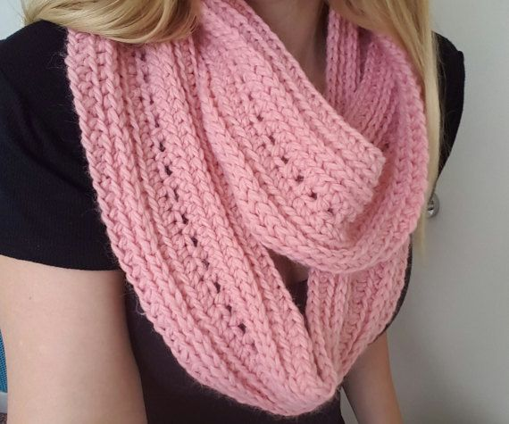 Check out this item in my Etsy shop https://www.etsy.com/au/listing/495163276/womens-pink-infinity-scarf-cute-wool