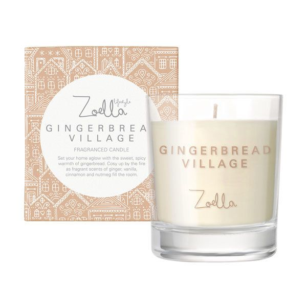 Zoella Candle - Gingerbread Village