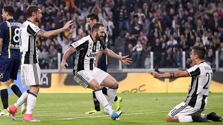 Juventus-Chievo 2-0. Un Dybala stellare e la seconda doppietta di fila di Higuain (dopo quella contro il suo ex Napoli in Coppa Italia) regalano tre punti