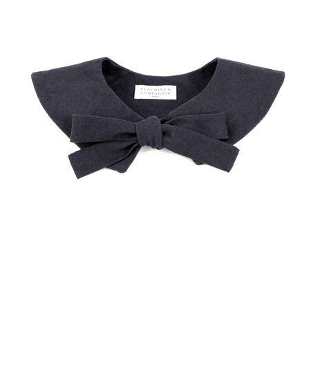 Claudine & Compagnie クロディーヌ&カンパニー - May 付け襟 (ネイビー) Collar (Navy)