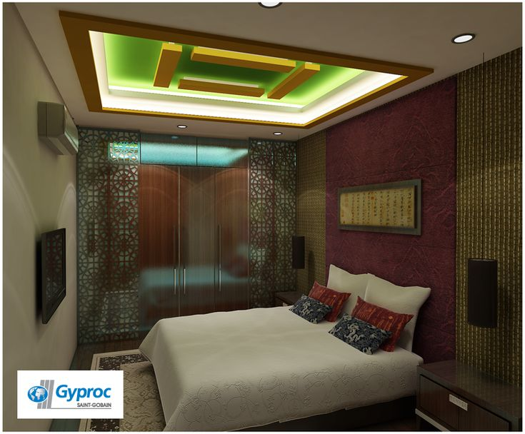 Give your living room a stunning new avtar with this for Bedroom false ceiling designs with wood