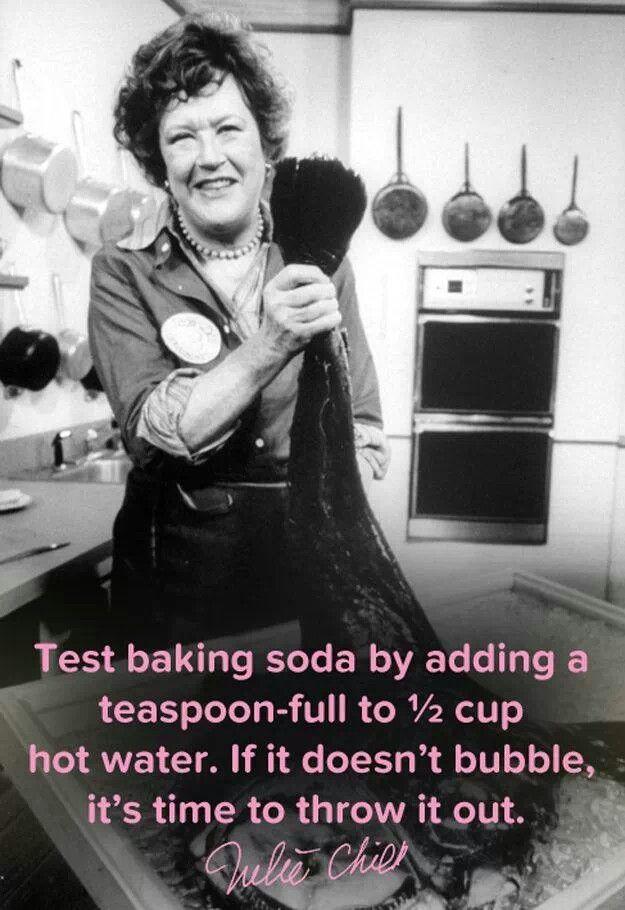 Interesting about baking soda! I never knew!