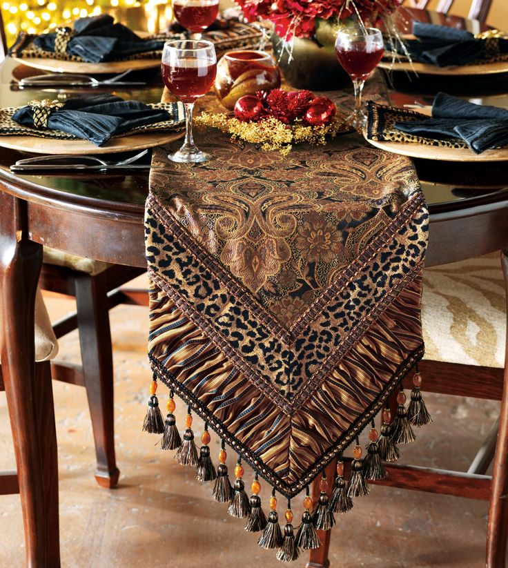 Modern Dining Room Table Runners