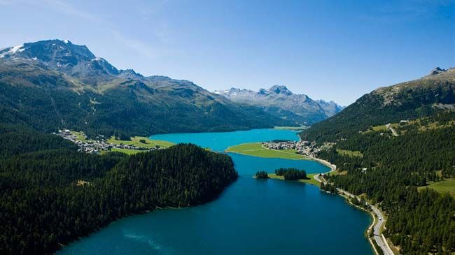 St. Moritz is one of the world's most famous holiday resorts. Olympic host city and part of a UNESCO World Heritage site.
