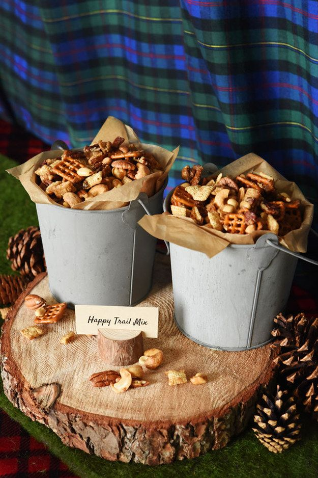 Beer and bacon trail mix: | Why Bro-Dal Showers Are The Next Big Thing In Weddings