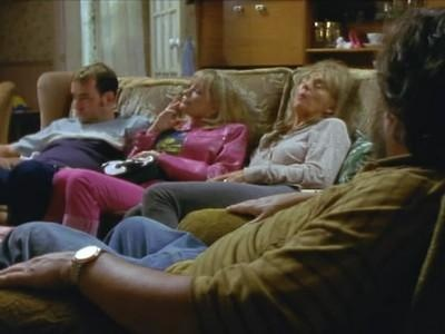 The Royle Family in their chairs