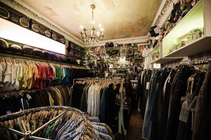 Vintage-Schätze muss man suchen. Eine gute Adresse ist die Pauls Boutique in der Oderberger Straße, Berlin