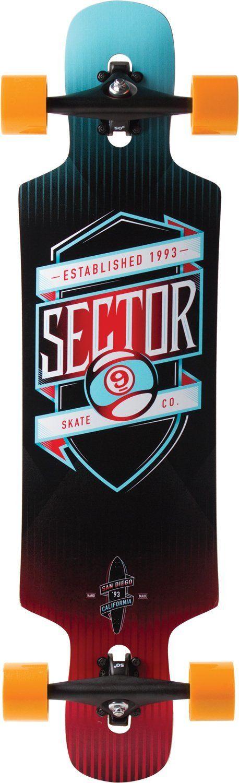 Sector 9 Sprocket Complete Skateboard, http://downhill.cybermarket24.com/sector-9-sprocket-complete-skateboard-orange-9-8inch-x/