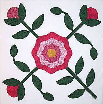 97 Best Images About Applique Rose Of Sharon On Pinterest