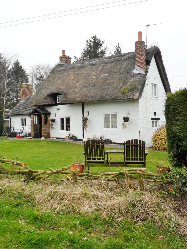 Thatched Cottage at Ladybirch Wood, Staffordshire, England (All Original Photography by vwcampervan-aldridge.tumblr.com) — FUCKITANDMOVETOBRITAIN