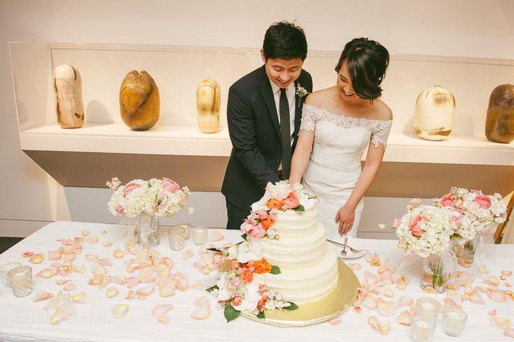 crocker art museum wedding photos cake cutting sarah maren photography sacramento. Black Bedroom Furniture Sets. Home Design Ideas