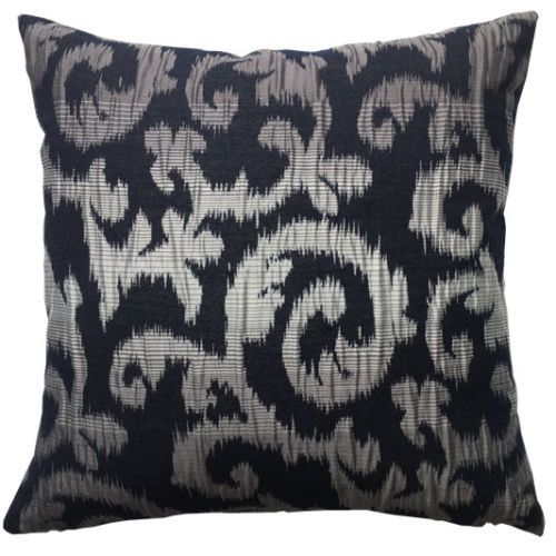 Vintage Retro Groovy Black Cushion Cover – Linen and Bedding