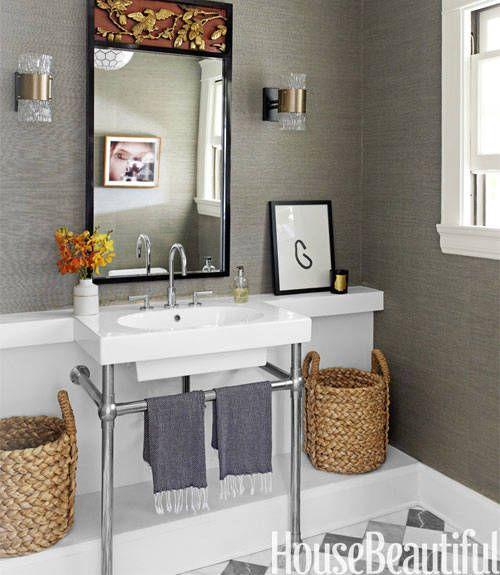 pareti grigie in bagno interior designer pinterest belle