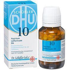 """Das Schüssler Salz Nr. 10 (Natrium Sulfuricum) ist das wichtigste Ausscheidungssalz und wird daher häufig auch als """"Klärsalz"""" bezeichnet."""