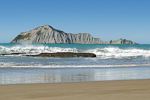 Waimarama Beach and Bare Island Hawkes Bay New Zealand