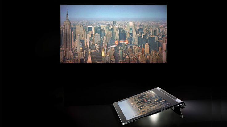 Lenovo Yoga Tablet 2 Pro: Riesen-Tablet mit Beamer im Test